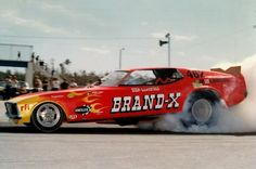 The BRAND-X Funny Car