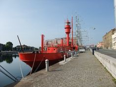 Bateau phare le Sandettie Dunkerque