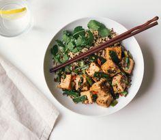 Hot Pepper Tofu