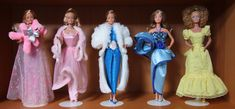 Some of my favourite 80s Barbie's that have been de-boxed and are still wearing their original outfits (they usually get redressed pretty quickly!).