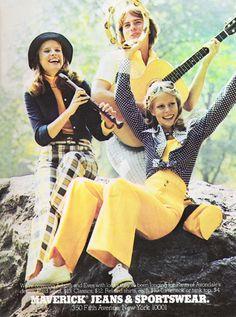 March 1974. Maverick Jeans.