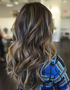 Top 13 Dimensional Balayage Color Shades Ideas for Long Hairstyles 2018