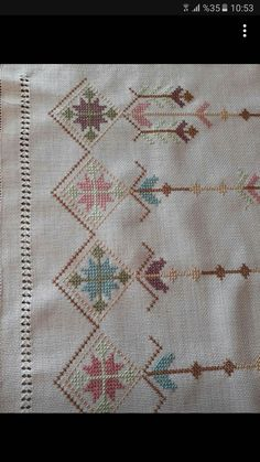 Cross Stitch Borders, Embroidery, Diy, Cross Stitch Rose, Towels, Scrappy Quilts, Kites, Knits, Hardanger