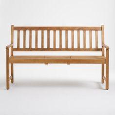 Wood St. Lucia Balcony Bench - v2