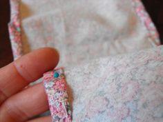 "Susie Harris: DIY ""Almost No Sew"" Ruffle Purse"