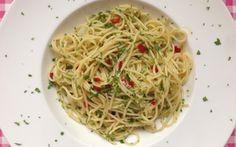 Italiaanse keuken: Spaghetti Aglio Olio e Peperoncino