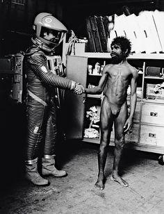 wandrlust: Weird, imágenes inéditas del Making of 2001: Una odisea del espacio