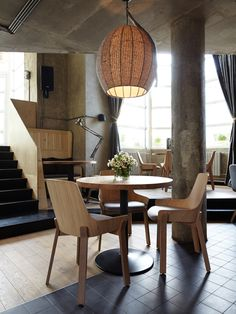 Our Koila chairs in the « Food Embassy », in Moscou. Design: Jean Louis Iratzoki