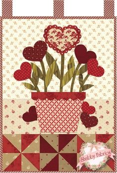 Little Blessings - Blooming Hearts Pattern