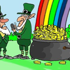 Social media can be a risky thing for magical creatures on St. Patricks Day - or any other day :)