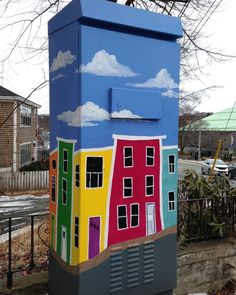 Art and urban infrastructure: the traffic control boxes of St John's – in pictures