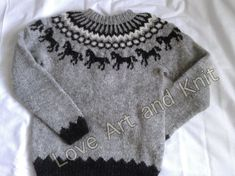 Handmade knitted Icelandic sweater made from 2 strands of Icelandic wool. Icelandic wool, very warm and cozy. Shipping via registered airmail.Chest 96 cmLength to underarm 40 cmSleeve length 50 cmFrom shoulder 67 cm Winter Sweaters, Wool Sweaters, Icelandic Sweaters, Daddy Gifts, Sweater Making, Handmade Shop, Pulls, Hand Knitting, Winter Fashion