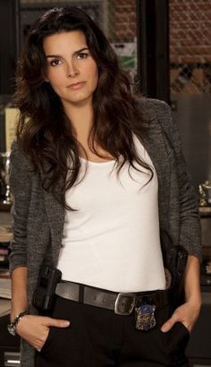 Angie Harmon from Baywatch Nights (remember that?), Law & Order and Women's Murder Club and now Rizolli and Iles is Greek, Irish and Cherokee.