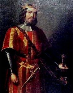 Aqu vemos una imagen del Rey Jaime I de Aragn tambin llamado