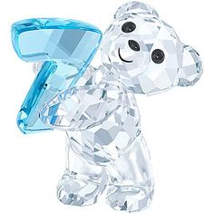 For the first time, the famous Swarovski Kris Bears are available in a smaller size. Each one sparkles in clear crystal with a coloured crystal... Shop now