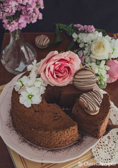 Nunca es demasiado dulce: Tarta de Coco sin horno Chocolate Angel Food Cake, Red Velvet Bundt Cake, Cake Pops, Fondant Flowers, Cheesecake, Cooking, Desserts, Fairy Houses, Birthday