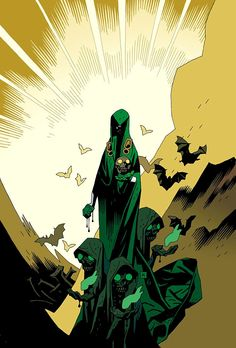 Tales of the Unexpected #1, cover by Mike Mignola