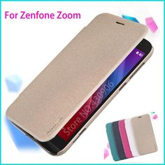 Original Nillkin For Asus Zenfone Zoom ZX551ML Smart Case Luxury Leather Cover Leather Case For Asus Zenfone Zoom ZX551ML