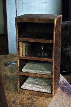 Early Advertising Box Shelf in Wonderful Original Patina | eBay