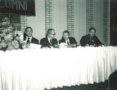 1971 University of Minnesota Homecoming Luncheon Head table.