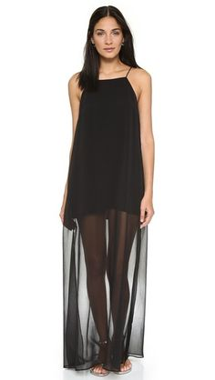 Line & Dot Rebel Sheer Maxi Dress