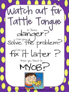 A Bad Case of Tattle Tongue#Repin By:Pinterest++ for iPad#