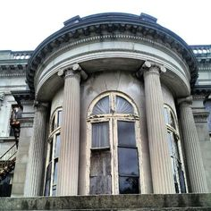 Lynnewood Hall Neglected- pic from Saving Lynnewood Hall Group