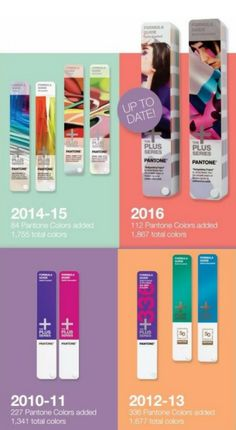 Do you have the most up to date Pantone guide? If you haven't upgraded your Pantone Guides and books for a while, your colours are no longer meeting full market demand nor are they reliably accurate.