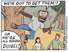 A Tom the Dancing Bug comic strip