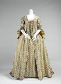 Robe a la francaise, 1760-70