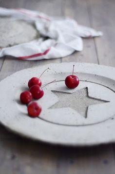 DIY: beton plate