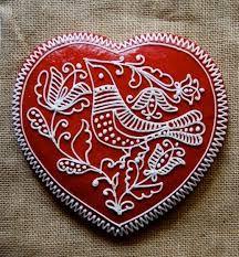 Bildergebnis für folk decorated gingerbread