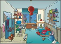 Hay lins room