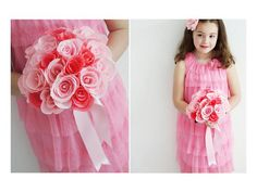#DIYWeddings  How to make paper flowers for a wedding boquet>> http://www.hgtv.com/handmade/how-to-make-paper-flowers-for-a-wedding-bouquet/index.html?soc=pinterest