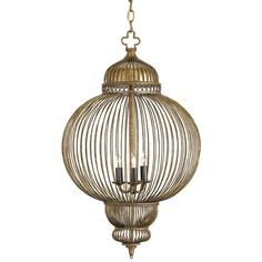 Currey and Company Giltspur Chandelier 1