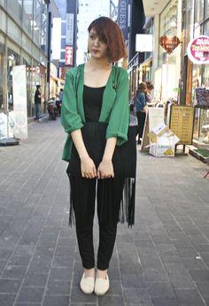 Ji-Ay Han | Street Fashion | Street Peeper | Global Street Fashion and Street Style    jacket