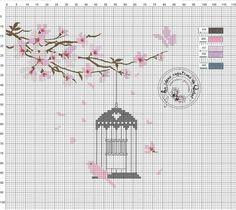 Moldes e Apostilas para Artesanato: Gráficos de ponto cruz: flores (fotos: google) #croche #fuxico #bordado #tecido #costura #artesanato #trico #Amigurumi  @eimeninas
