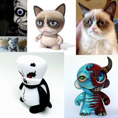 angry toy art