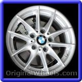 BMW 128I 2010 Wheels & Rims Hollander #71401 #BMW #128I #BMW128I #2010 #Wheels #Rims #Stock #Factory #Original #OEM #OE #Steel #Alloy #Used