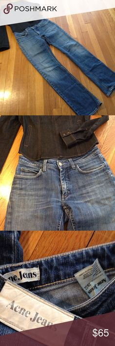 Acne Jeans Hep Pure 29/32 Swedish Jeans. Acne Jeans Straight Leg