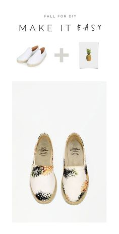 Make It Easy | Pineapple Espadrilles
