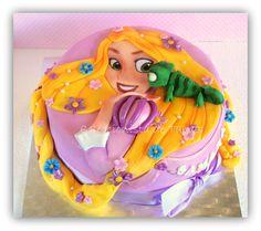 Rapunzel Tangled Cake fondant