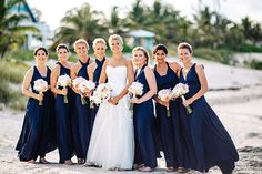 Bahamas Destination Real Wedding Photos: You'll Fall in Love with this Elegant…