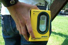 Sony Walkman. Good times, good times :) AND it was waterproof