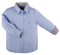 "Andy & Evan ""Blue"" Little S'Collar Shirt"