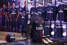 Paris Saint-Germain Megastore during the launch of the new jersey 16-17