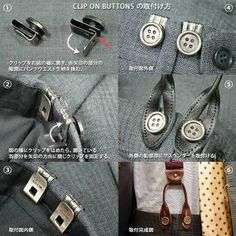 Rakuten: ALBERT THURSTON/CLIP ON BUTTON/ Al bar tosser stone / clip on button, SCL-615- Shopping Japanese products from Japan