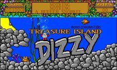 Treasure Island Dizzy (1988). More brilliance from Codemasters, but so, so cruel!