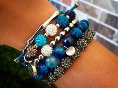 Silver, White & Blue  #Chrissy #Kaleidoscope #Ireland #Erika #Emerson #ErinBlair