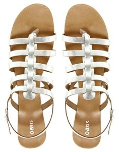 Oasis Gladiator Sandals #asos #sandals ($43)
